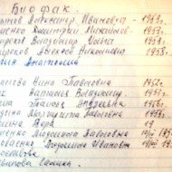 Лыжники Биофака АГПИ 1970-1971 г. г.